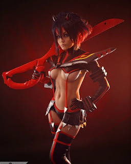 christina fink sexy kill la kill cosplay 03