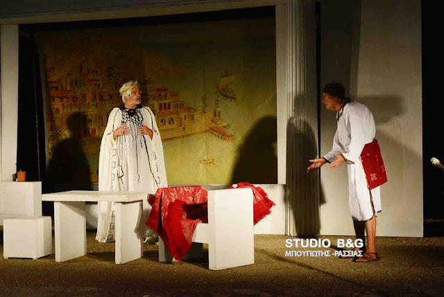 Με επιτυχία η θεατρική παράσταση αλληλεγγύης με τον Φαίδωνα Γεωργίτση στο Άργος για τον μικρό Κωνσταντίνο