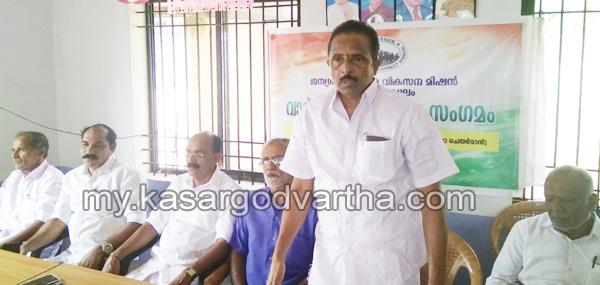 Kerala, News, Cherkkala, Kasargod, Janasree Chengala against Gail Pipe line.