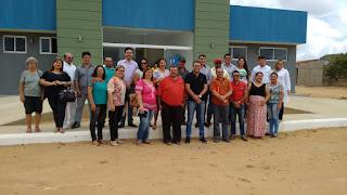 Prefeito Olivânio, vice Lucas Marques, vereadores, secretários e amigos visitam distritos de Picuí