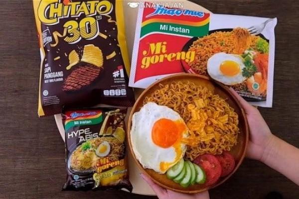 Cute Abis! Indomie Memberikan Kado Ulang Tahun Chitato