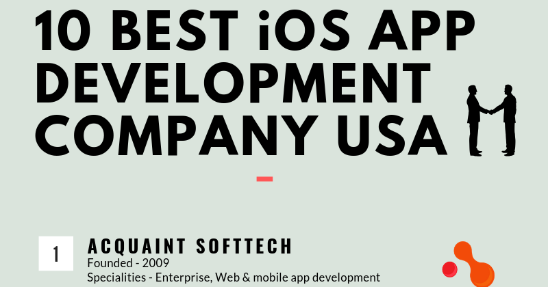 Top 10 Best iOS App Development Company USA