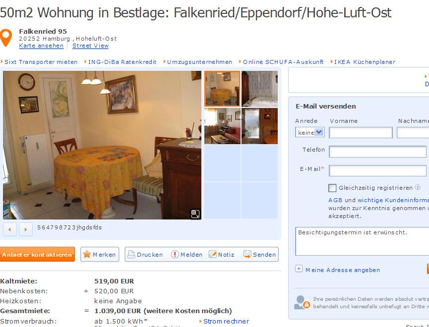 henning98specht 50m2 wohnung in bestlage falkenried. Black Bedroom Furniture Sets. Home Design Ideas