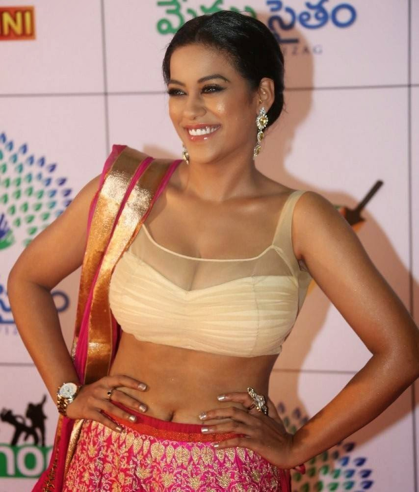 Mumaith Khan images, Mumaith Khan Slim Pics in Seyxy Lehenga Choli