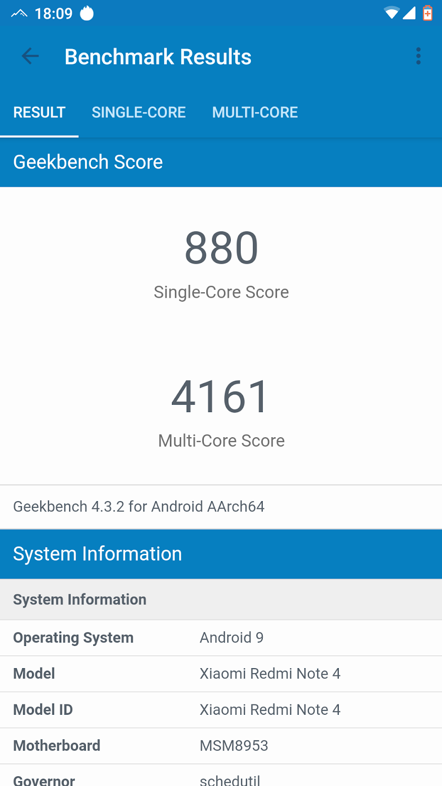 NotKernel versus Ethereal Kernel on SyberiaOS Pie ROM for
