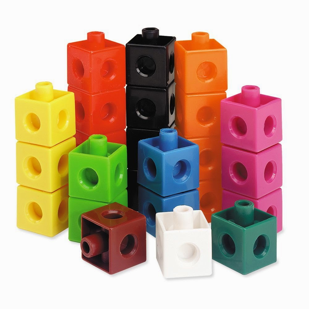 snap cubes in list of must have homeschool preschool supplies