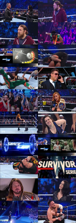 Screen Shot Of WWE SmackDown Live 6th November 2018 HDTV 480P 300MB
