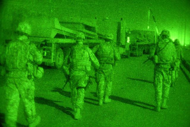 Μεταφορά Τ-τοίχων τη νύχτα
