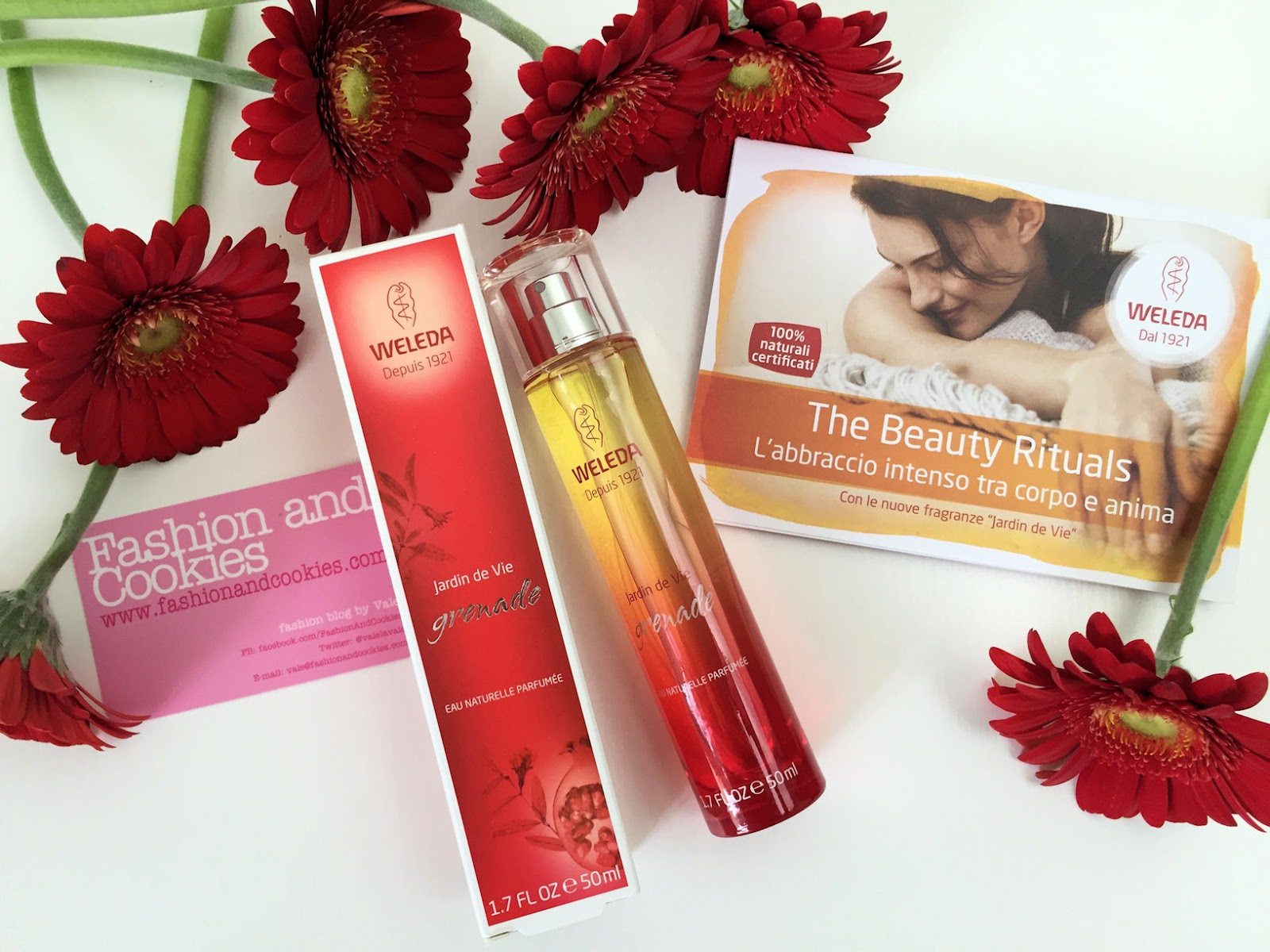 Weleda Jardin de Vie Eau Naturelle Grenade review on Fashion and Cookies beauty blog, beauty blogger