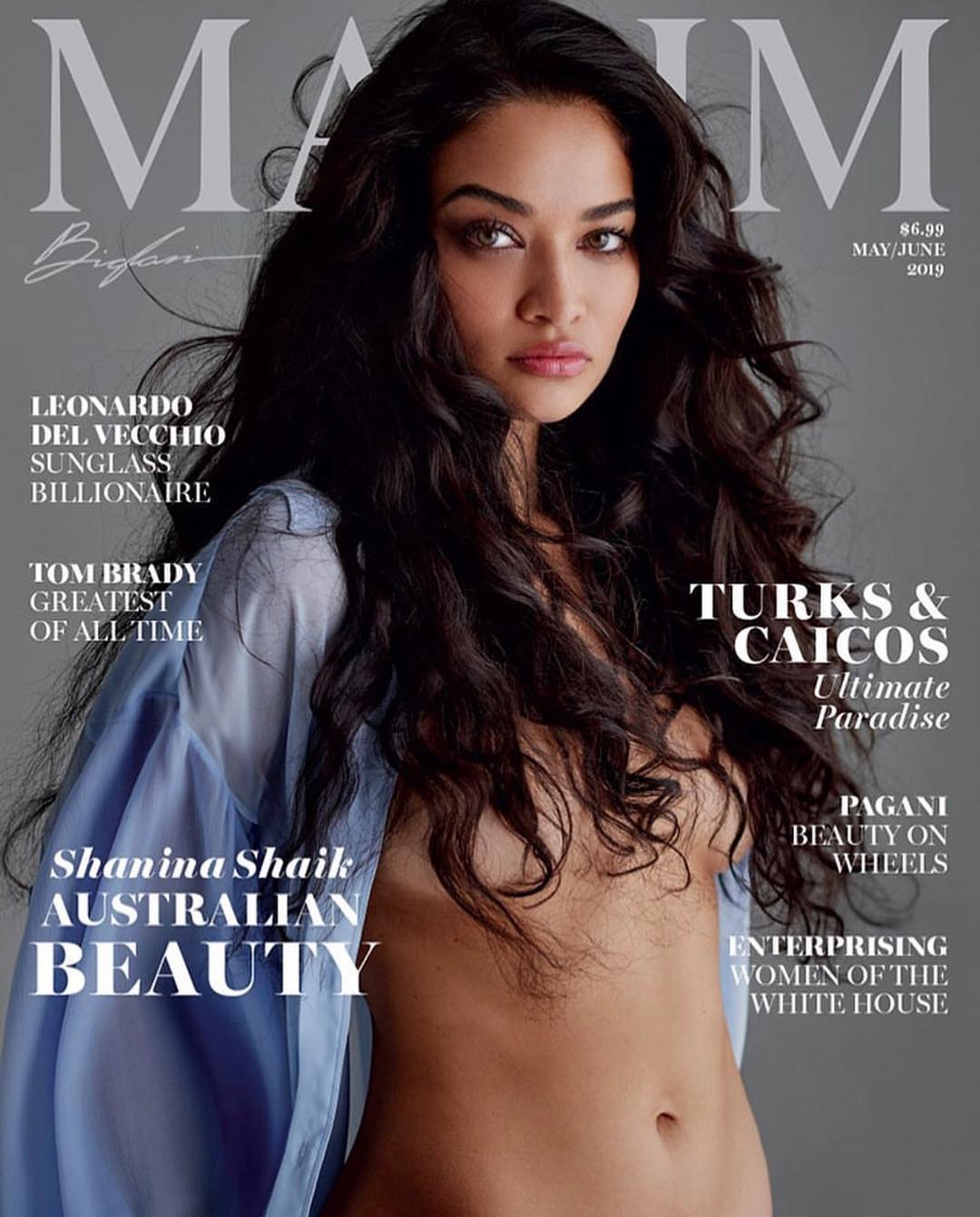 Shanina Shaik Is Maxim's May/June Cover Girl