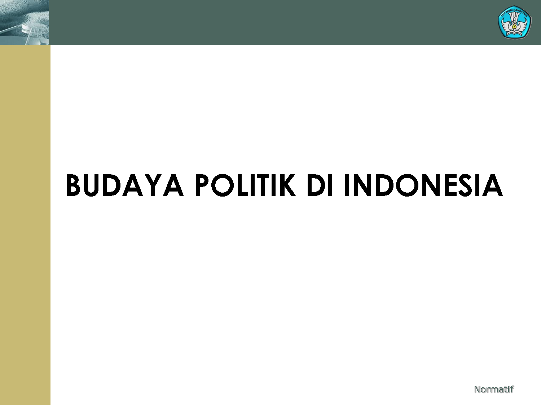 Definisi Budaya Politik menurut para ahli | Blog Pelajar_49