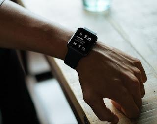 detalle de un apple smartwatch