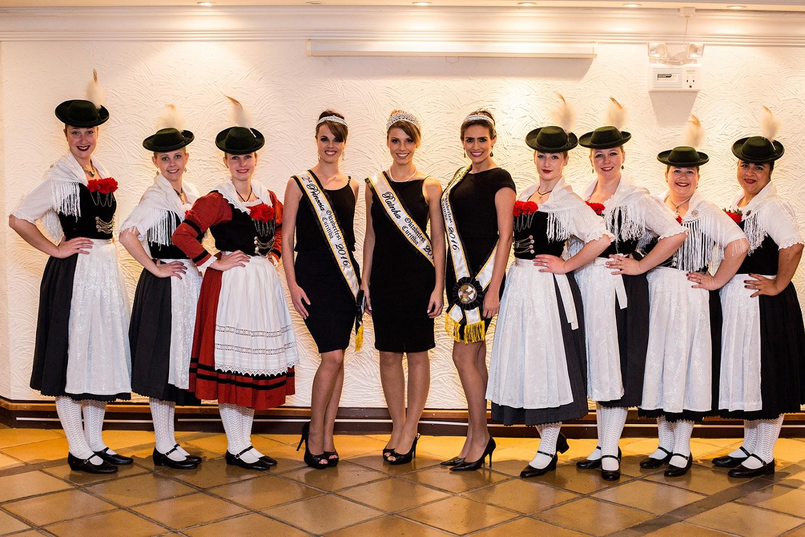 Na semana passada se realizou na Operativa Working Center o concurso para a  escolha da realeza da 1ª edição da Oktoberfest Curitiba 33eaaba3c3404