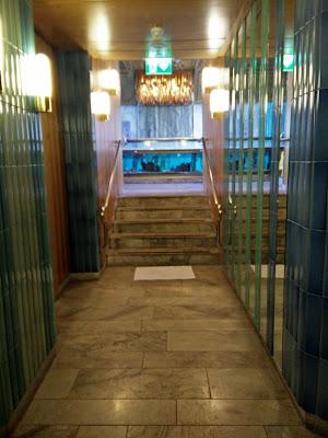 Entrance to the pool area and sauna, Hilton Strand Helsinki