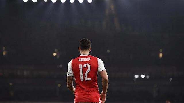Giroud Tak Akan Tinggalkan Arsenal di Januari