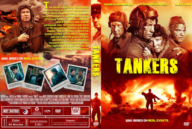 Tankers DVD Cover