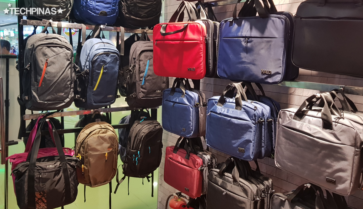 SM City Sucat, SM Cyberzone, Halo Bags