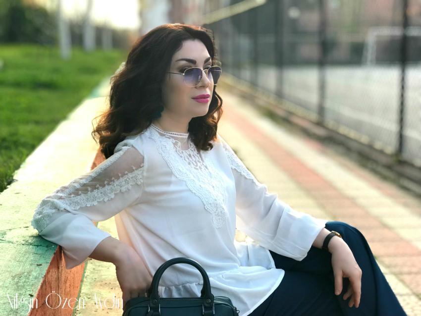 alışveriş-Beyaz Şifon Bluz-moda blogu-fashion blogger