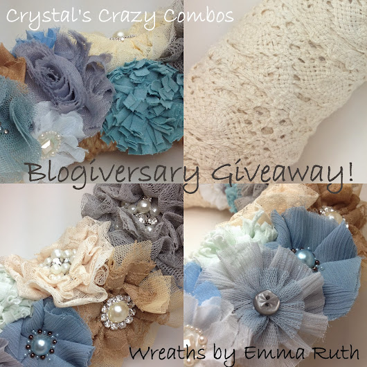 Wreaths by Emma Ruth Review & Blogiversary Giveaway!