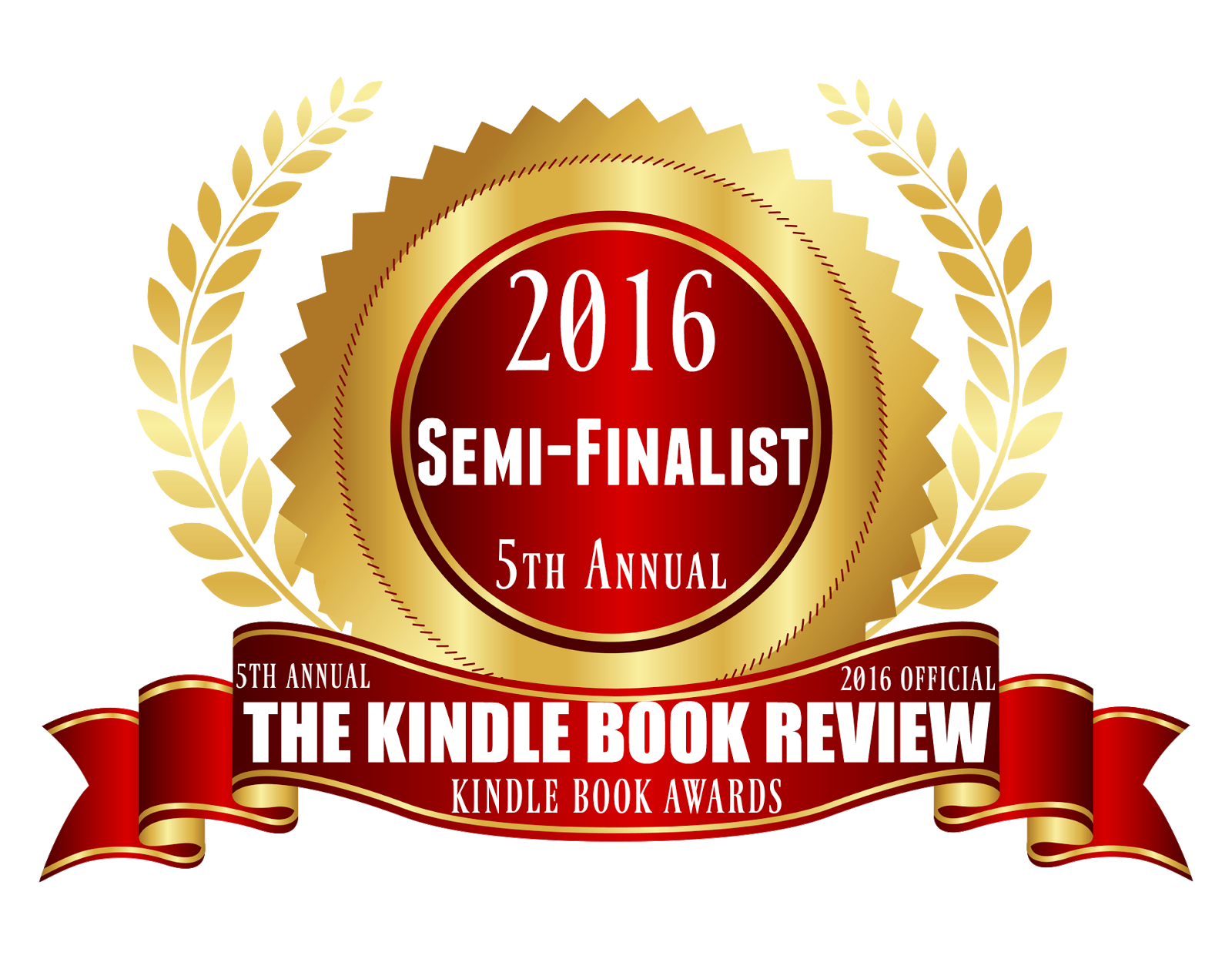 2016 Best Kindle Book Awards Semi-Finalist