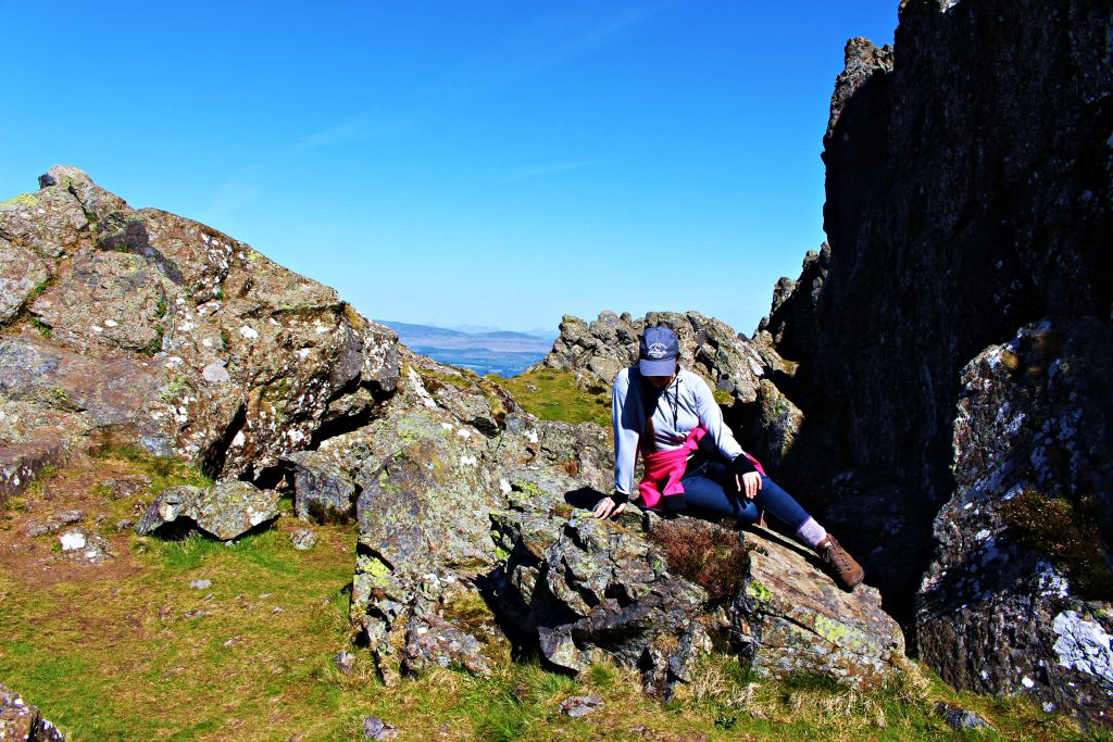 Hike to the Whangie and Queen's View in the Kilpatrick Hills