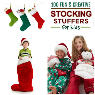 100+ FUN & CREATIVE STOCKING STUFFER IDEAS FOR KIDS- WOW! so many ideas are on this list that I never thought of! #stockingstuffers #stockingstuffersforkids #Christmasforkids