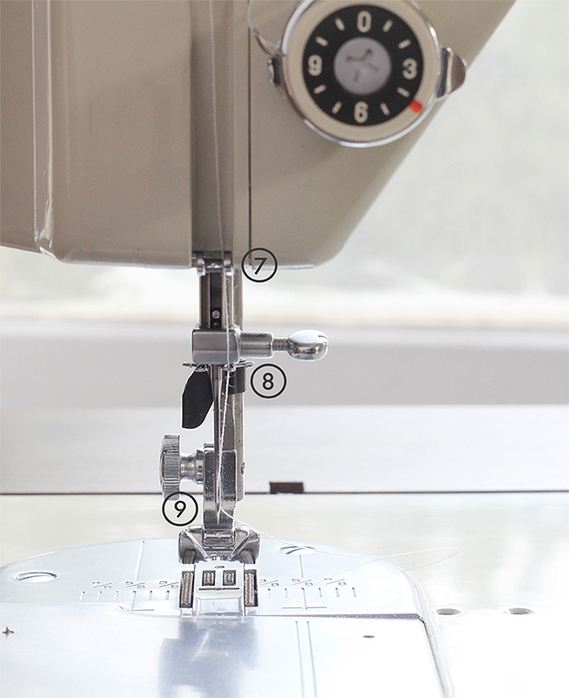 A step-by-step guide on how to thread your sewing machine