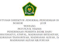 Petunjuk Teknis (Juknis) dan Pedoman PPDB dan Matsama 2019/2020