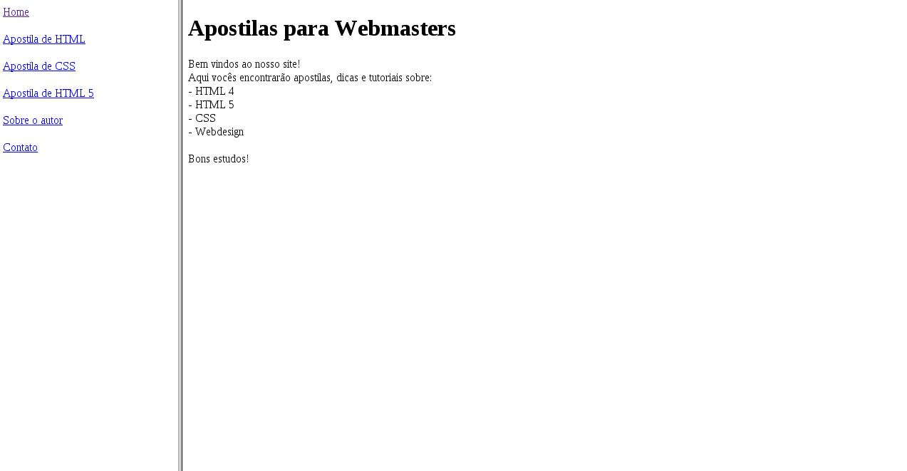 Como criar um site com frames em HTML | HTML Progressivo