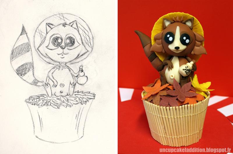 Expo Tarta 2013 :  Cupcakes Japonais - Le Tanuki