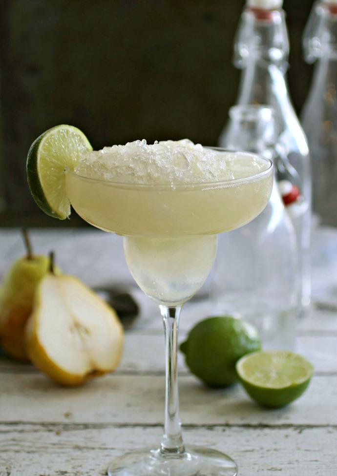 Pear Margarita Cocktail
