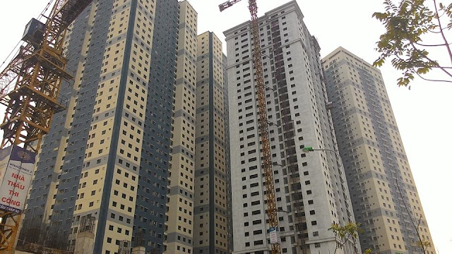 8 dự án chung cư Hà Nội dưới 20 triệu/m2 nổi bật trong năm 2017