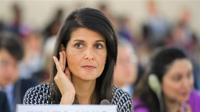 The United States tells United Nations Rights Council to remove 'chronic anti-Israel bias'