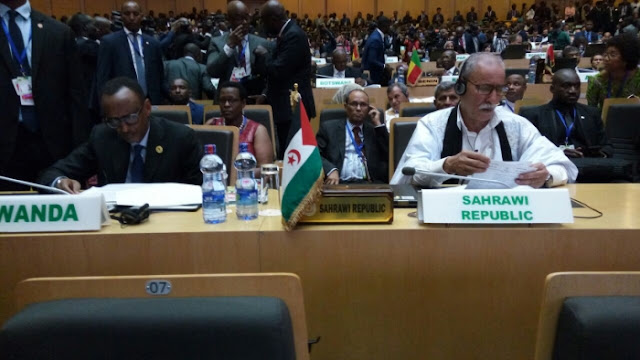 President of Republic takes part in XXX Summit of African Union Heads of State and Government