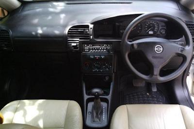 Interior Chevrolet Zafira