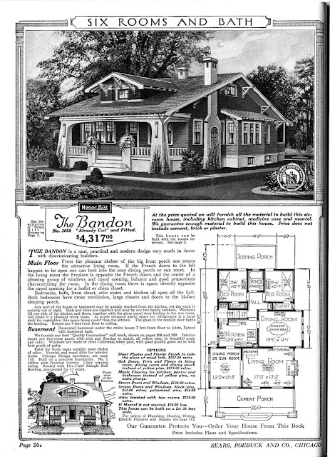 Sears Catalog Kit Homes From The Early 20th Century