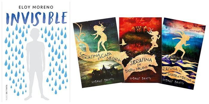 cuentos libros lecturas recomendadas verano 2018 Invisible eloy moreno, Serafina