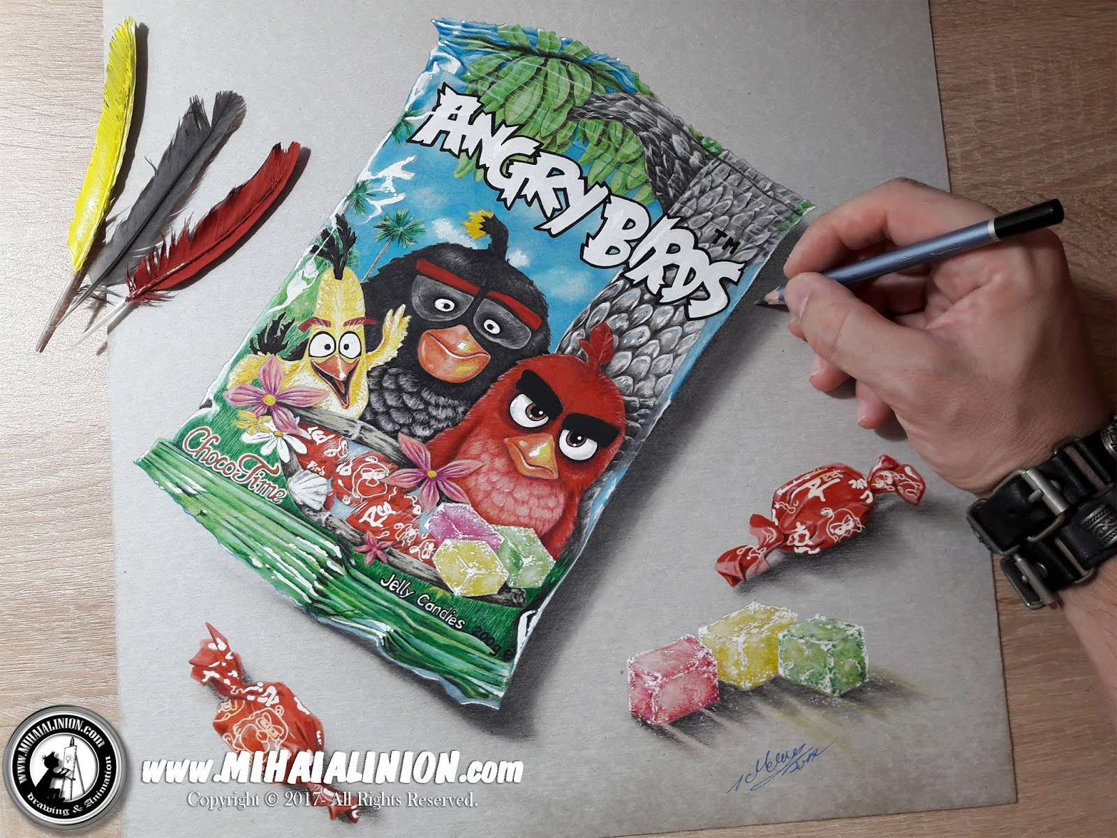 Drawing Angry Birds, Drawing Birds, Drawing Angry Birds Movie, Red, cartoon illustration, crazy birds, funny birds, Bomb, angry birds the game, Chuck, Angry Birds Comics, How to draw angry birds, angry birds pencil drawing, illustrations by mihai alin ion, MAI Comics, Mihai Alin Ion, art by mihai alin ion, how to draw, artselfie, rovio entertainment, drawing ideas, free drawing lessons, drawing tutorial, art, dessin, disegno, dibujo, drawing for kids, drawing, illustration, painting, design, realistic 3d art, coloured pencils, www.mihaialinion.com, 2018, pencil drawing, tempera, acrilics paint, marker, gouache painting, mixed media, comics, comic book, caricature, portrait, cum sa desenezi, caricaturi mihai alin ion, caricaturi si portrete  la comanda, eveniment caricaturi, caricaturi la nunta, caricaturi la botez, caricaturi la majorat, desene pe pereti, desene pentru copii, ilustratie carte, benzi desenate, caricaturi, portrete, comanda caricaturi