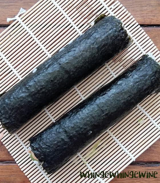 Hand made Yutaka sushi rolls