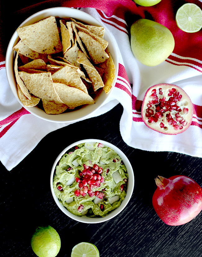 Festive Winter Guacamole