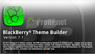 BlackBerry Theme Studio v7.1 Beta Preview 2