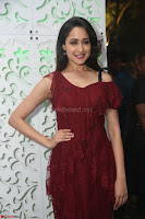 Pragya Jaiswal in Stunnign Deep neck Designer Maroon Dress at Nakshatram music launch ~ CelebesNext Celebrities Galleries 083.JPG