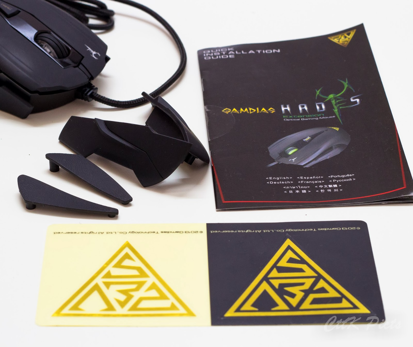 Gamdias Hades Extension Optical Gaming Mouse 57
