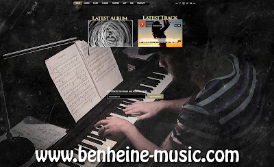 ben heine music website - 2015