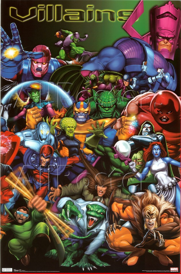 Villanos de Marvel