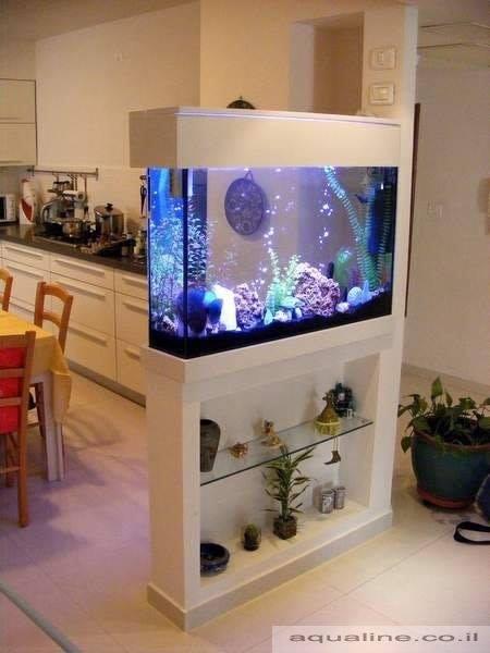 46 Desain Aquarium Cantik Dan Unik Anti-mainstream - Rumahku Unik