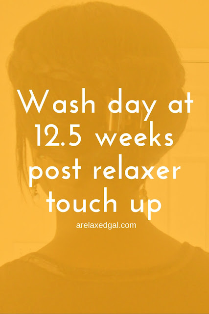 I'm stretching my relaxer longer than usual. See how I'm handling all of the new growth.   arelaxedgal.com