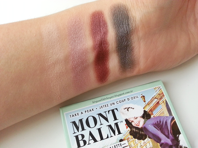 the balm mont balm palet