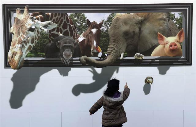 3D-малюнок тварин
