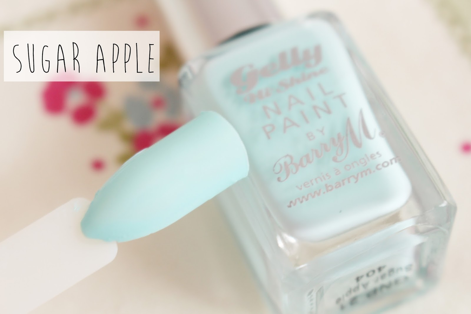 Barry M Gelly Nail Paint Spring Sugar Apple